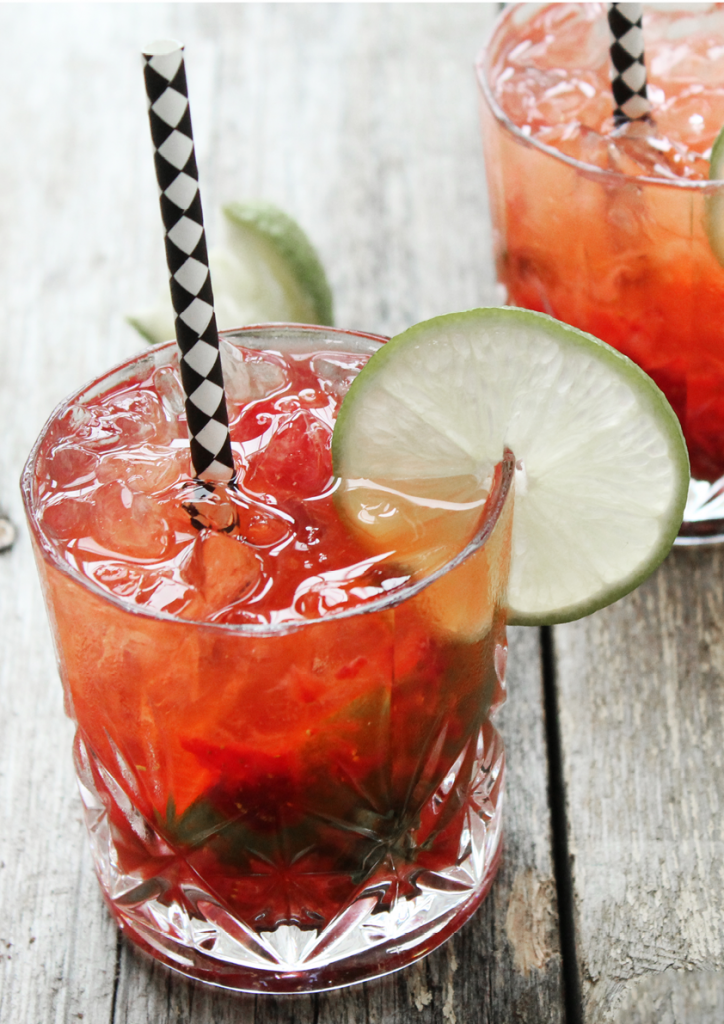 mojito strawberry by samantha fotheringham