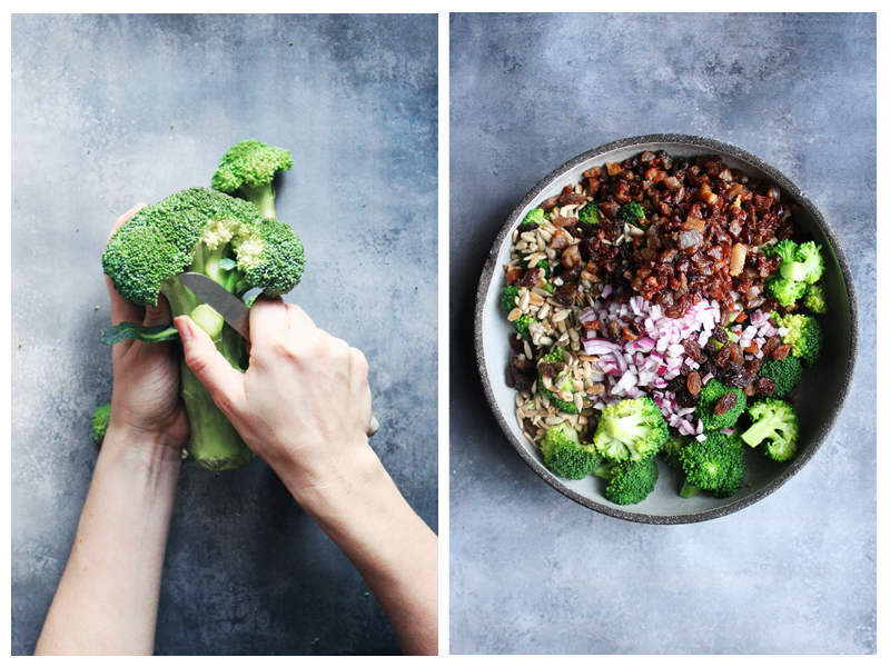 Broccoli salat - Foto by samantha fotheringham